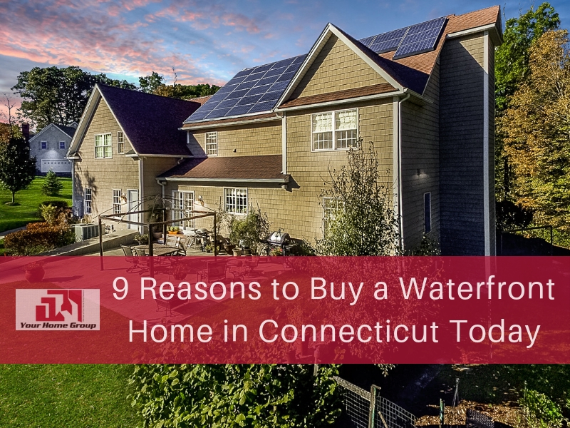 Waterfront Homes for Sale in CT